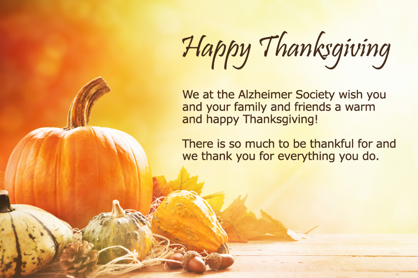 happy thanksgiving alzheimer society blog