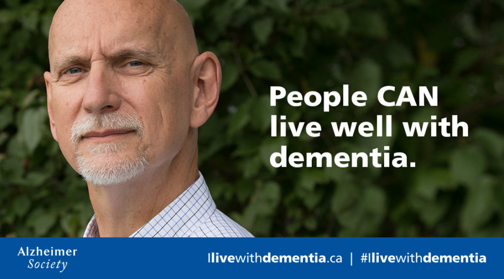 Keith Barrett: People CAN live well with dementia.