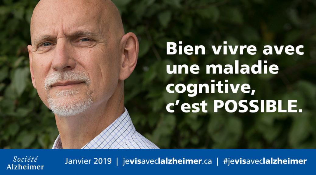 Keith Barrett : « Bien vivre avec une maladie cognitive, c'est POSSIBLE. »