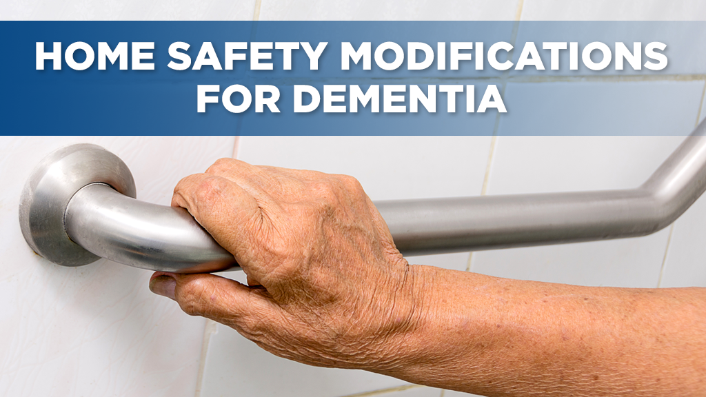 Home safety modifications for dementia