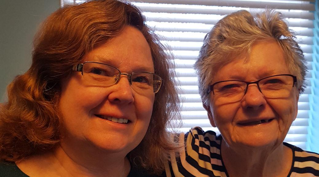 Jane Kennedy et sa mère, Eileen.