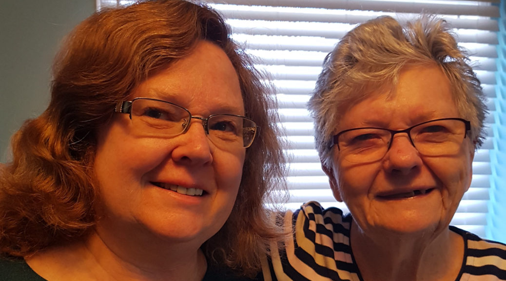 Jane Kennedy, and her mom, Eileen