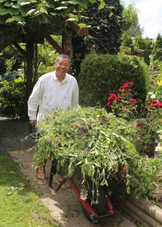 Mario Gregorio at home.