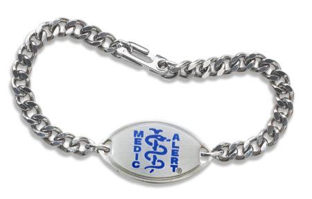 MedicAlert SafelyHome bracelet