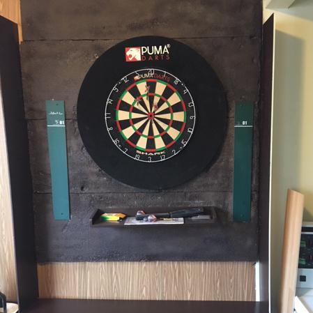 Paul Lea's dartboard