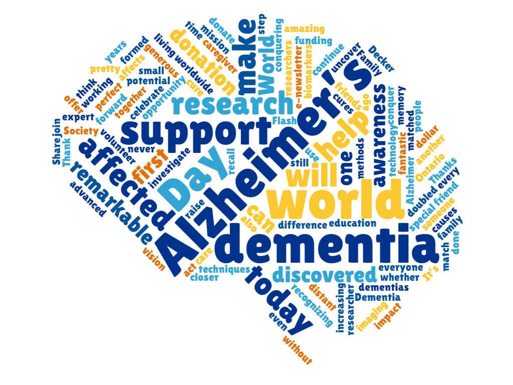 Make a difference on World Alzheimer's Day